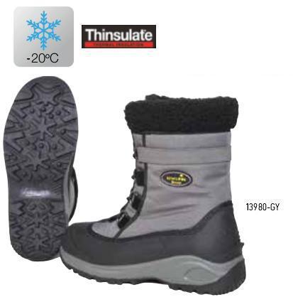 Зимние сапоги NORFIN SNOW GRAY (-20°) -  Ботинки Зимние NORFIN 503309ff00106